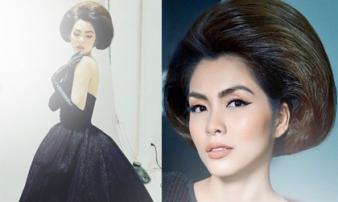 Tăng Thanh Hà khoe nhan sắc kiêu kỳ, quyến rũ trong hậu trường buổi chụp ảnh thời trang