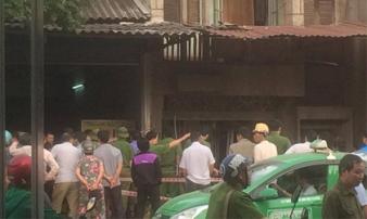 Nghi nổ mìn trước cửa nhà dân ở Thái Nguyên, một phụ nữ tử vong