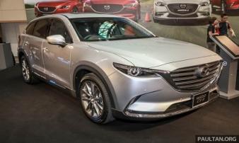 Mazda CX-9 2018 ra mắt, giá từ 1,5 tỷ đồng