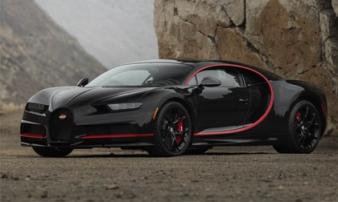 4 triệu USD để sở hữu Bugatti Chiron phiên bản 'Batmobile'