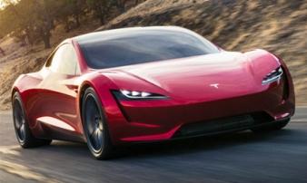 Xe điện Tesla Roadster nhanh hơn cả Bugatti Chiron