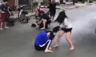 Xác minh clip thiếu nữ bị đánh dã man giữa đường