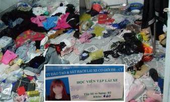 Hotgirl 'bùng' tiền nhà trọ, để lại cả núi rác cho chủ nhà khiến dân mạng 'dậy sóng'