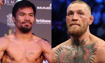 Nóng bỏng boxing tỷ đô: Đại tá Pacquiao chiến 'Gã điên' McGregor