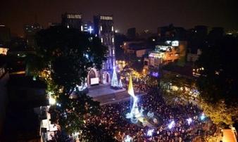 Giáng sinh ở Hà Nội thì đi đâu?