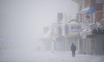 'Bom bão tuyết' khiến Mỹ lạnh thứ hai hành tinh, mùa đông ở Bắc Cực chưa là gì!