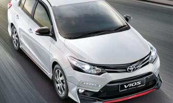 Toyota Vios 2018 bản thể thao giá 533 triệu đồng