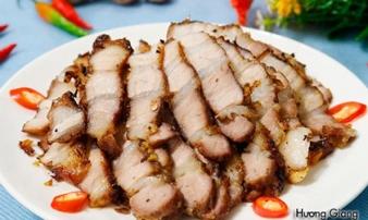 Thịt ba chỉ nướng sả ớt tuyệt ngon cho cuối tuần