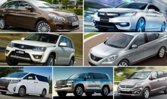 """10 mẫu ô tô """"ế"""" nhất Việt Nam tháng 12/2017"""