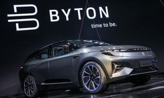 Crossover Byton độc đáo có giá 1 tỷ đồng