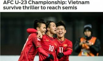 """U23 Việt Nam tạo """"đại địa chấn"""": La Liga ngả mũ, báo chí thế giới nể phục"""