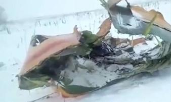 Nga: Máy bay chở 71 người phát nổ trên bầu trời