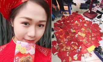 Cô gái 10 năm bê tráp cưới, nhận gần 500 phong bao lì xì