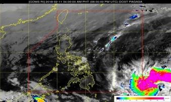 Thở phào đón Tết: Bão Sanba đã suy yếu thành áp thấp nhiệt đới
