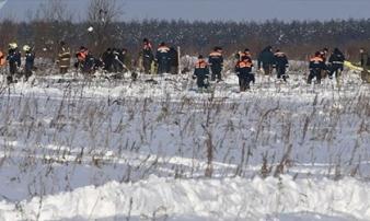 Tìm thấy hơn 200 mảnh thi thể tại khu vực chiếc An-148 rơi