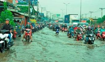 Sài Gòn có thể mưa, ngập vào dịp Tết