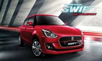 "Suzuki Swift 2018 chuẩn bị đổ bộ"" Việt Nam?"