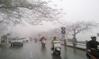 Thời tiết ngày làm việc đầu tiên năm Mậu Tuất: Hà Nội mưa phùn, TP.HCM nắng nóng