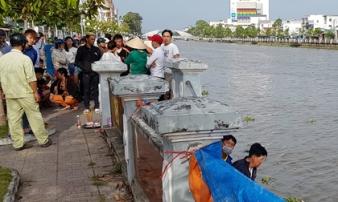 Tìm thấy thi thể người phụ nữ giận chồng nhảy sông