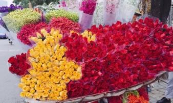 'Loạn giá' hoa hồng cận ngày Quốc tế phụ nữ 8.3