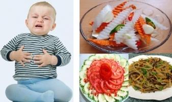 10 kiểu kết hợp rau củ mẹ tuyệt đối đừng cho bé ăn