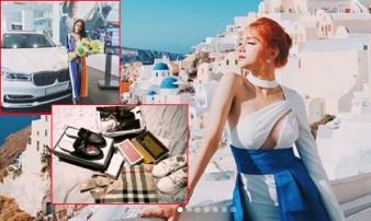 Cuộc sống giàu có đáng mơ ước của Hoa hậu Hương Giang Idol