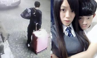 Kéo vali chứa xác bạn gái ra khỏi khách sạn ngày lễ Tình nhân