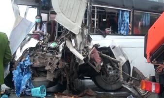 Vụ xe cứu hỏa chạy ngược chiều đi cứu nạn: 1 cảnh sát đã tử vong