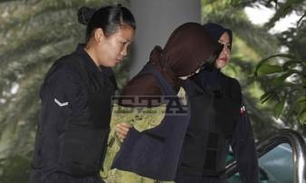 Sau khi bị bắt, Đoàn Thị Hương mới biết ông 'Kim Jong-nam' chết