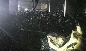 """Trích xuất camera phát hiện """"thủ phạm"""" vụ cháy chung cư Carina khiến 13 người thiệt mạng"""