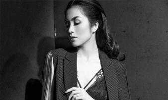Diện váy ren sexy, Tăng Thanh Hà được khen nhan sắc đỉnh cao