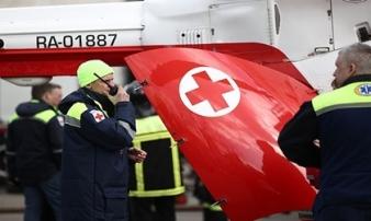 Rơi trực thăng chở 6 người ở Nga, không ai sống sót