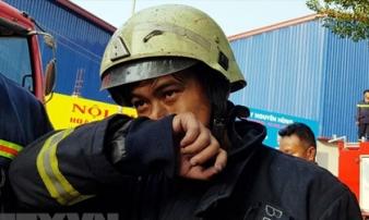 Cư dân chung cư Carina tri ân Cảnh sát phòng cháy chữa cháy