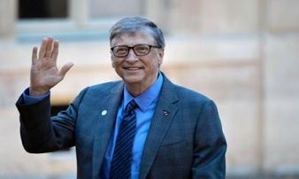 Bill Gates là người đàn ông được ngưỡng mộ nhất thế giới