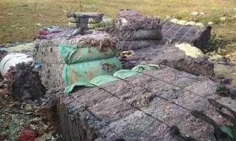 Cháy xưởng vải vụn vùng ven, nhiều công nhân tháo chạy