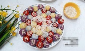 Cách làm bánh trôi, bánh chay ngũ sắc vừa ngon lại đẹp mắt cho Tết Hàn thực thêm ý nghĩa