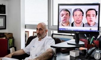 Kỳ lạ người đàn ông có tới 3 gương mặt khác nhau
