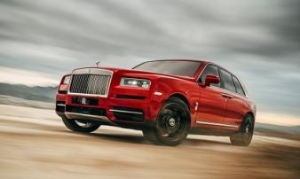 SUV siêu sang Rolls-Royce Cullinan chốt giá từ 41,277 tỷ đồng tại Việt Nam