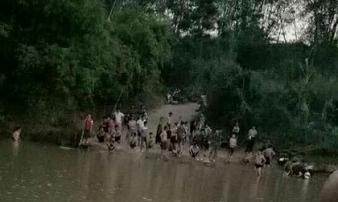Tắm sông, bé trai 10 tuổi đuối nước thương tâm