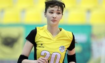 Cận cảnh nhan sắc nữ thần bóng chuyền đẹp nhất thế giới đang ở Việt Nam
