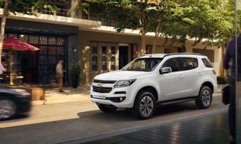 Chevrolet Trailblazer bán chạy nhất phân khúc SUV 7 chỗ