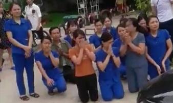 Vụ cô giáo quỳ xin: Chủ cơ sở mầm non thừa nhận sai và chủ động dừng hoạt động