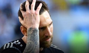 Argentina gây sốc đầu tiên World Cup: Báo chí xứ Tango giận Messi, Sao Iceland ngỡ mơ