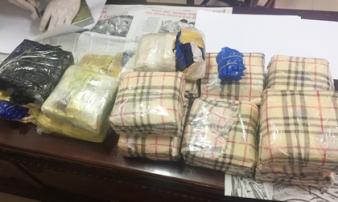 Triệt phá đường dây ma túy xuyên quốc gia, thu 3 bánh heroin, 10kg ma túy đá, 24000 viên MTTH