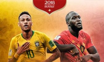 World Cup, Brazil - Bỉ: Neymar đấu Hazard, rực lửa 'chung kết sớm'