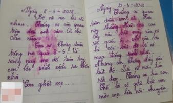 'Con không phải là con mẹ, phải không?' - cuốn nhật ký nhòe nước mắt của bé gái lớp 5 khiến các bậc cha mẹ sững sờ