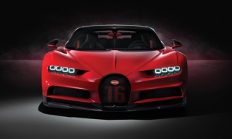 Siêu xe Bugatti Chiron mới giá 6 triệu USD