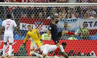 Croatia - Anh: 120 phút kịch chiến, bàn thắng vỡ òa (Bán kết World Cup)