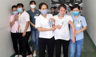 Vụ hàng loạt công nhân ngất xỉu: 19 thai phụ nhập viện nói gì?