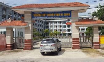 Không ít thí sinh ở Hà Giang được nâng tới... 20 điểm